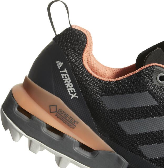 adidas TERREX Fast GTX Surround Shoes Dame core blackgrey